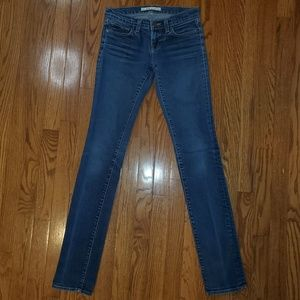 J BRAND Jeans Low Rise Skinny Jeans